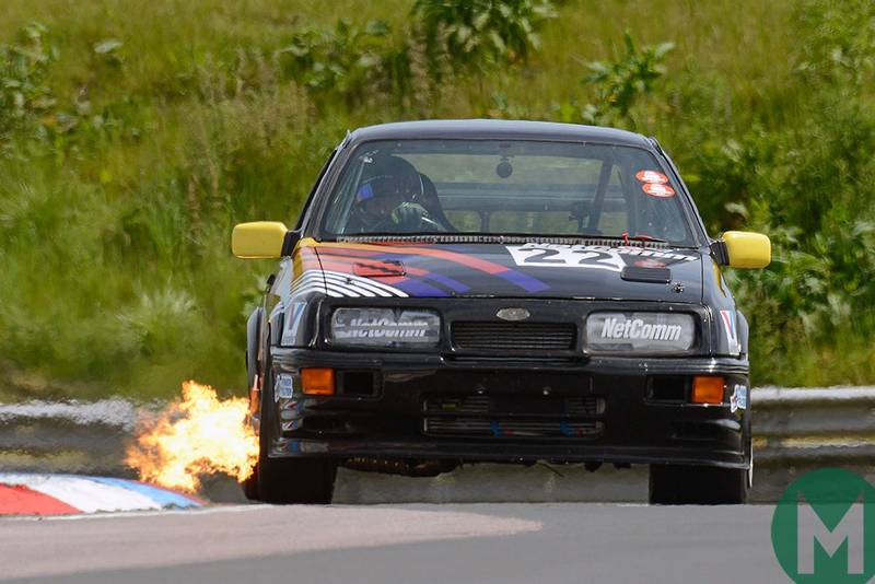 Flames, Spitfires and fog: on the road at the UK's national circuits in June