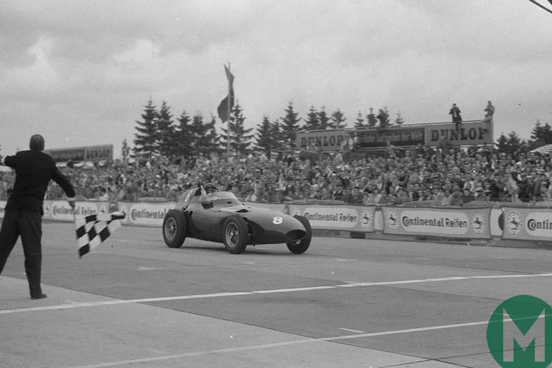 Tony Brooks' greatest victory: forgotten genius' win at the 1958 German Grand Prix