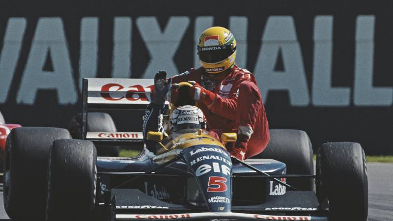 Nigel Mansell's best drives