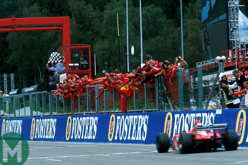 Michael's masterclass: Schumacher's domination of the 2002 Belgian Grand Prix