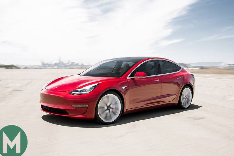 """Borderline violent"" acceleration, but pace isn't the Tesla Model 3's problem"