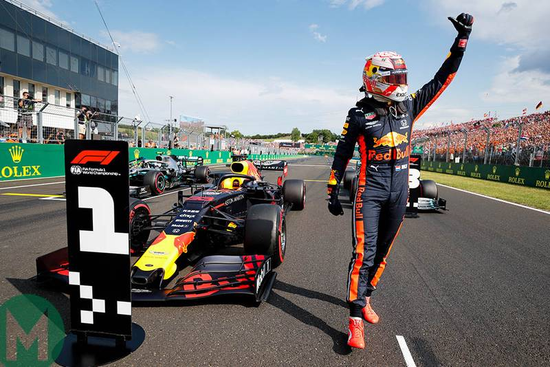 2019 Hungarian Grand Prix qualifying report: Verstappen is 100th pole-sitter