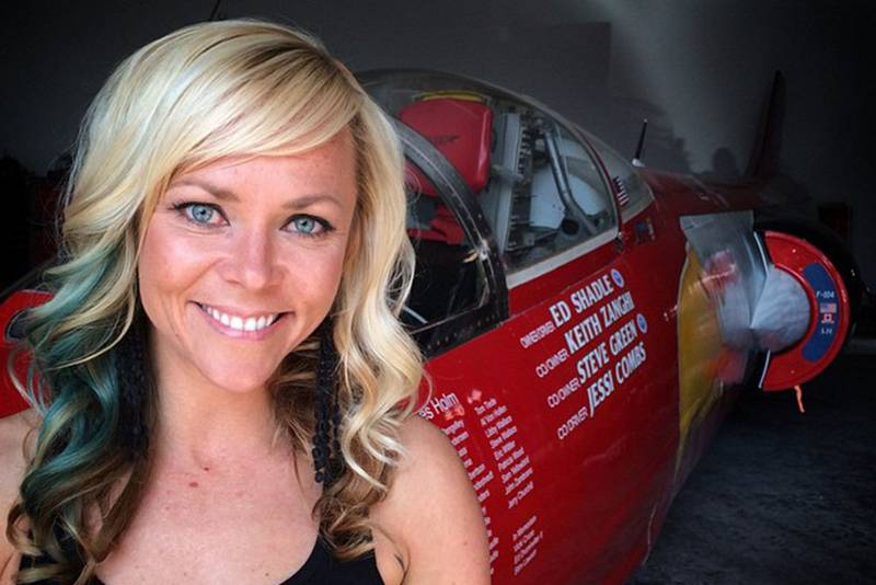 Jessi Combs posthumously named fastest woman on land, after fatal crash