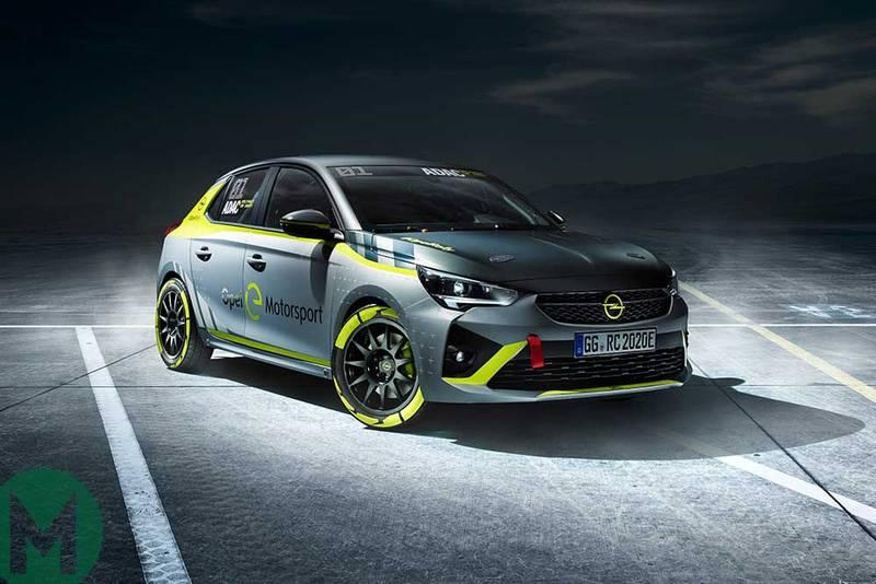 Opel reveals all-electric Corsa-e rally car