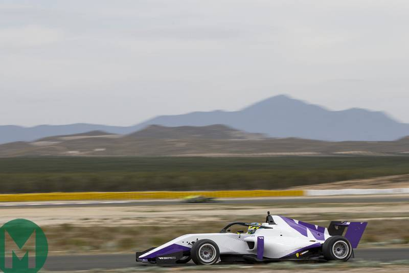 W Series testing from Almeria in 2018