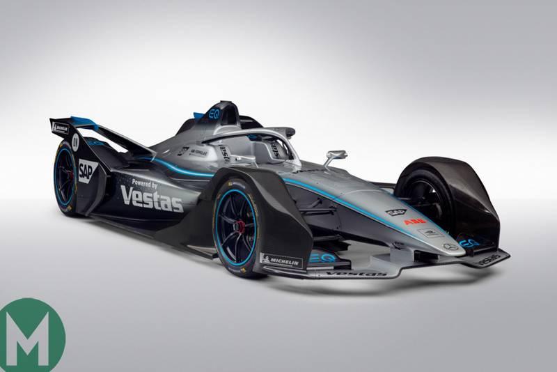 The 2019/20 Formula E car