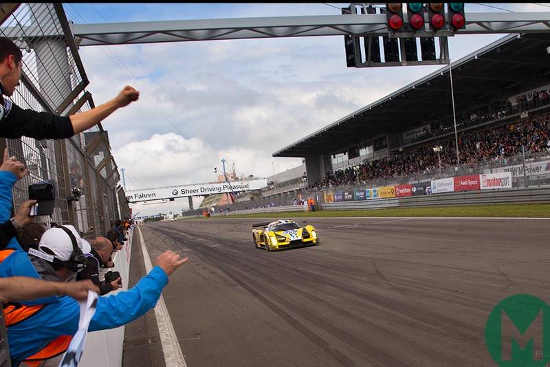 Scuderia Cameron Glickenhaus SCG 003 takes class victory at the Nurburgring 24 Hours