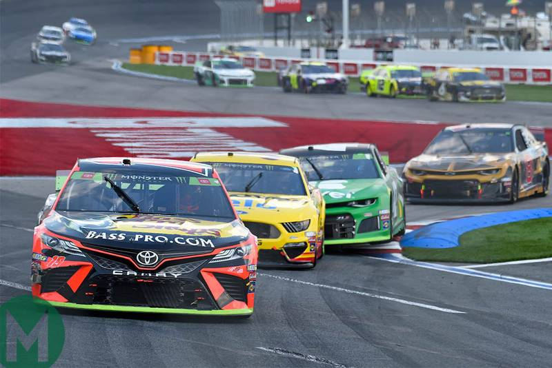 Martin Truex Jr leads the field at the Roval at Charlotte