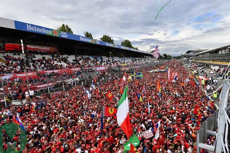 Italian Grand Prix to remain on Formula 1 calendar until 2024