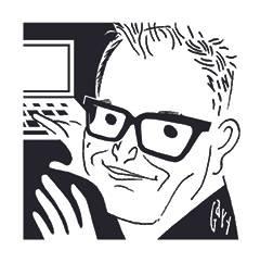 Joe Dunn caricature