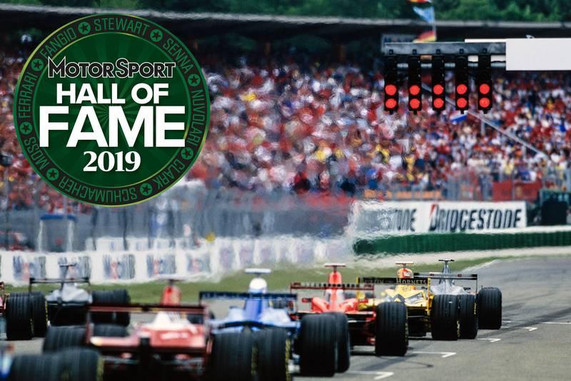 Formula 1 – 2019 Motor Sport Hall of Fame nominees