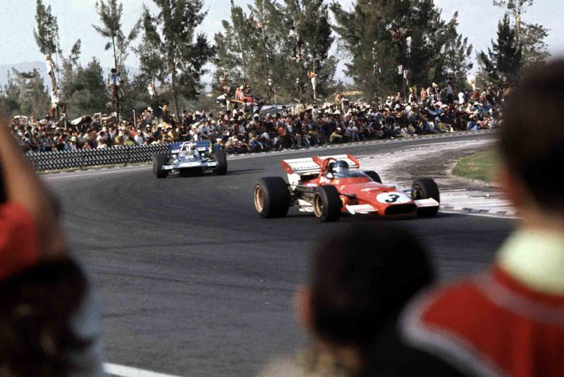 """The F1 race """"lined with human guard rails"""": the 1970 Mexican Grand Prix"""