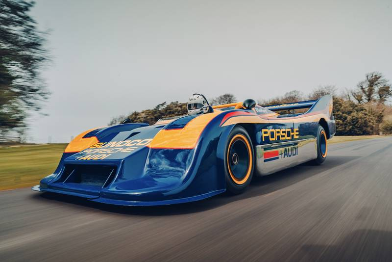 Porsche's 1500bhp Can-Am weapon