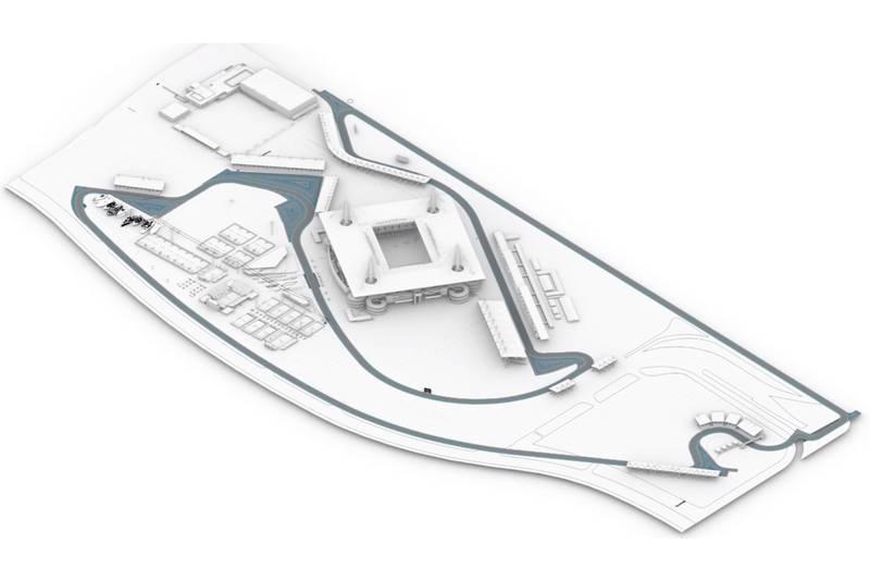Miami Grand Prix track map
