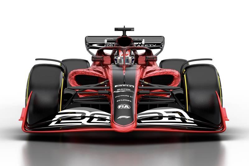 F1 2021 regulation car