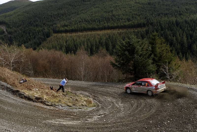 Wales Rally GB National Rally: racing in the wheeltracks of Ogier