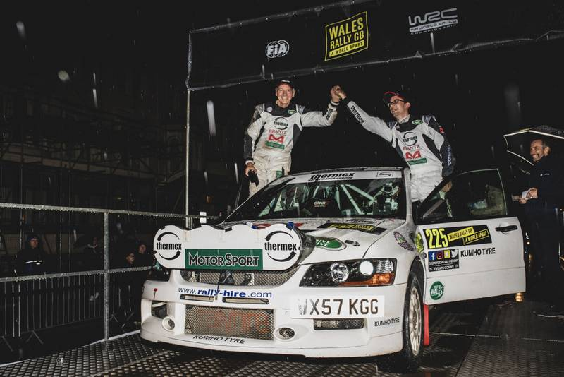 Sixth-place finish for Motor Sport at Wales Rally GB National
