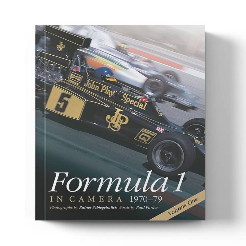 Product image for Formula 1 in Camera 1970 - 79 Volume 1 by Paul Parker