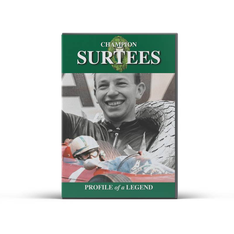 Product image for Champion: John Surtees | DVD
