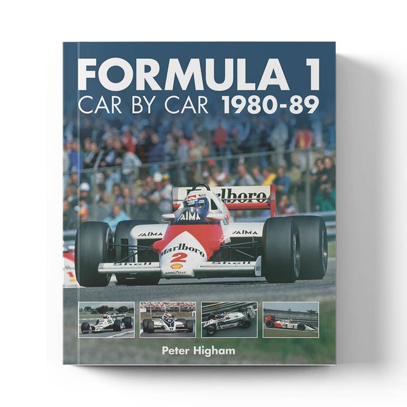 Product image for F1 Car by Car: 1980-89 | Peter Higham | Book | Hardback