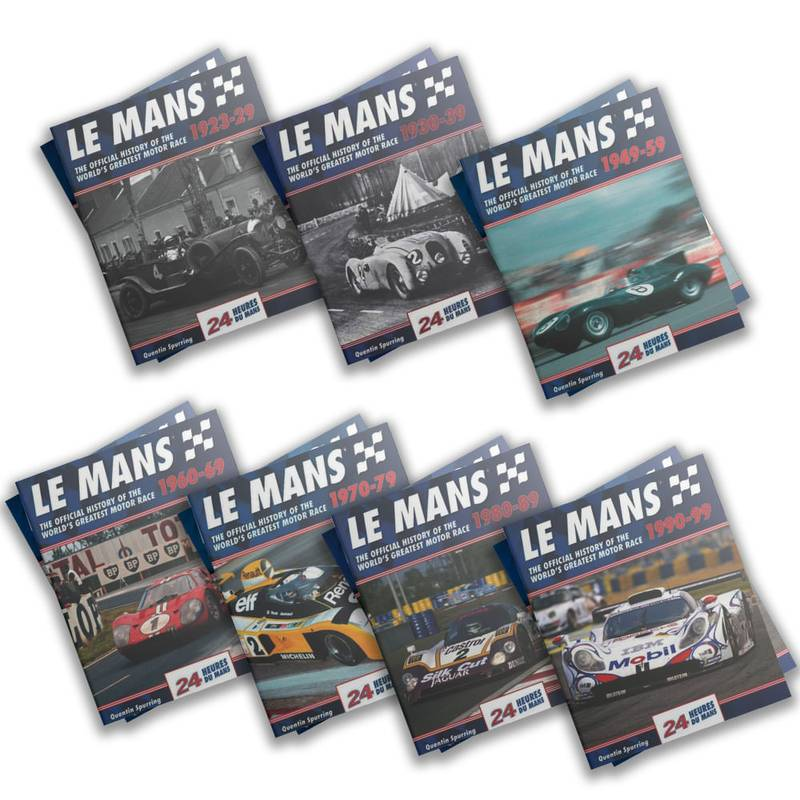 Product image for Le Mans: The Official History | Quentin Spurring | 7 Volume Bundle