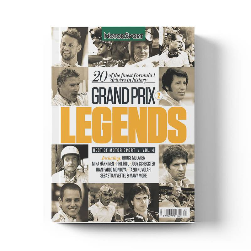 Product image for Grand Prix Legends 2 | Motor Sport Magazine | Collector's Edition Bookazine