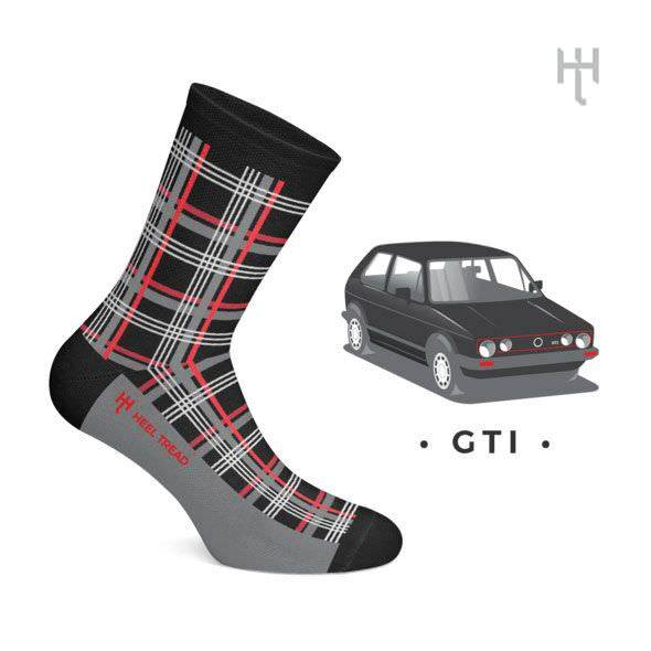 Product image for GTI: Heel Tread Socks