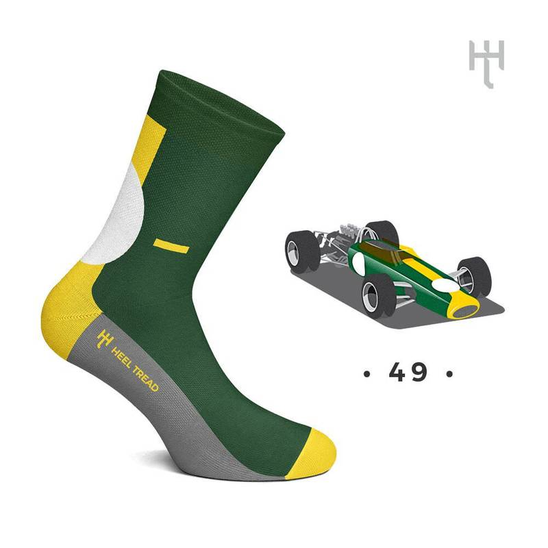 Product image for 49: Heel Tread Socks