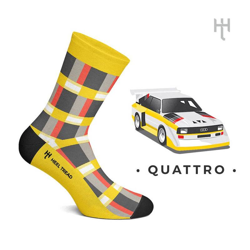 Product image for Quattro: Heel Tread Socks