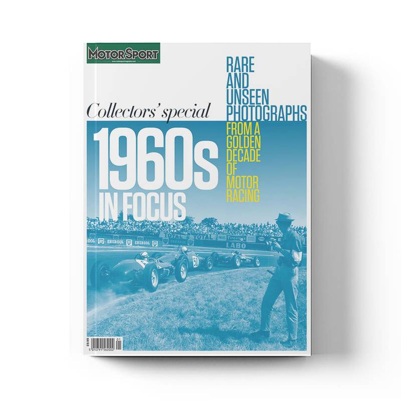 Product image for 1960s in Focus | Motor Sport Magazine | Collector's Edition Bookazine