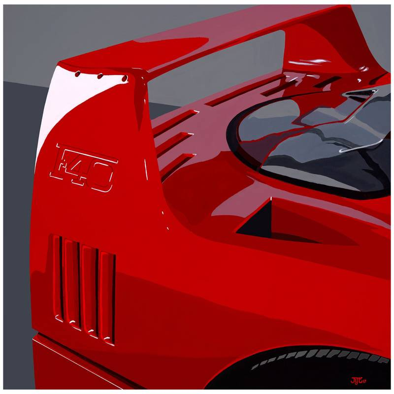 Product image for F40 - Limited Edition Print