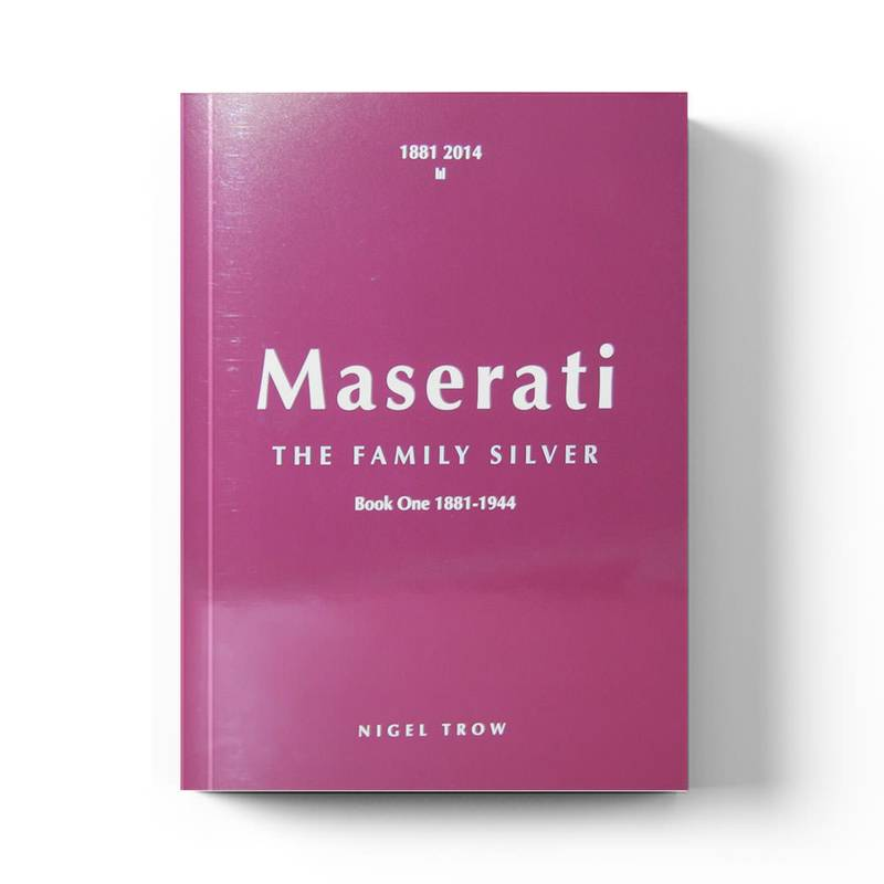 Product image for Maserati: The Family Silver   Nigel Trow   Book   Hardback  