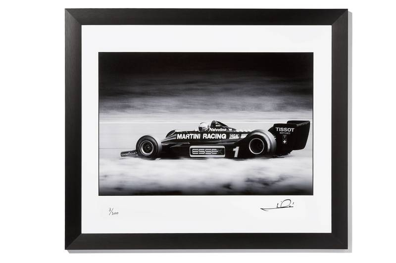 Product image for Mario Andretti -  Lotus 79 - 1986 | signed Steve Theodorou | Limited Edition print