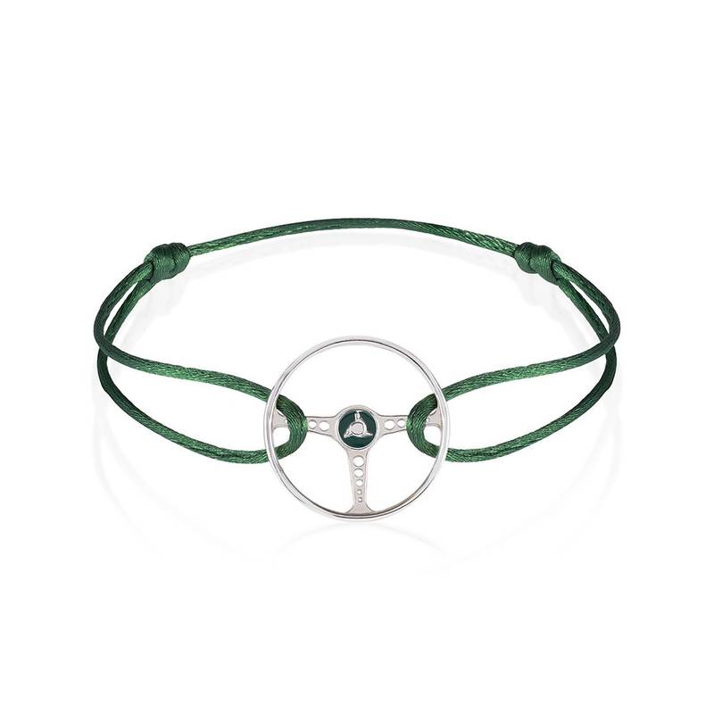 Product image for Steering Wheel - Racing Green | British Racing Green Cord | Bracelet