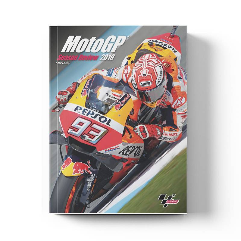 Product image for MotoGP Season Review: 2018   Mat Oxley   Book   Hardback