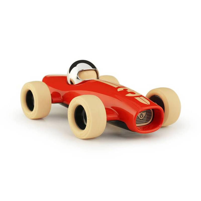 Product image for Malibu Racing Car - No 3 | Bright Red | Toy Model