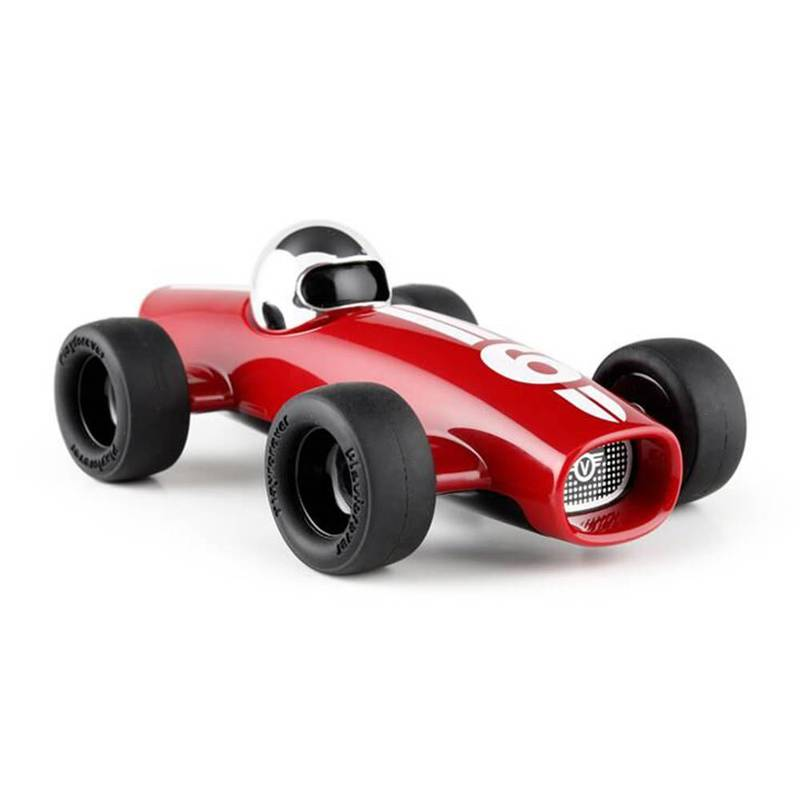 Product image for Malibu Racing Car - No 6 | Dark Red | Toy Model