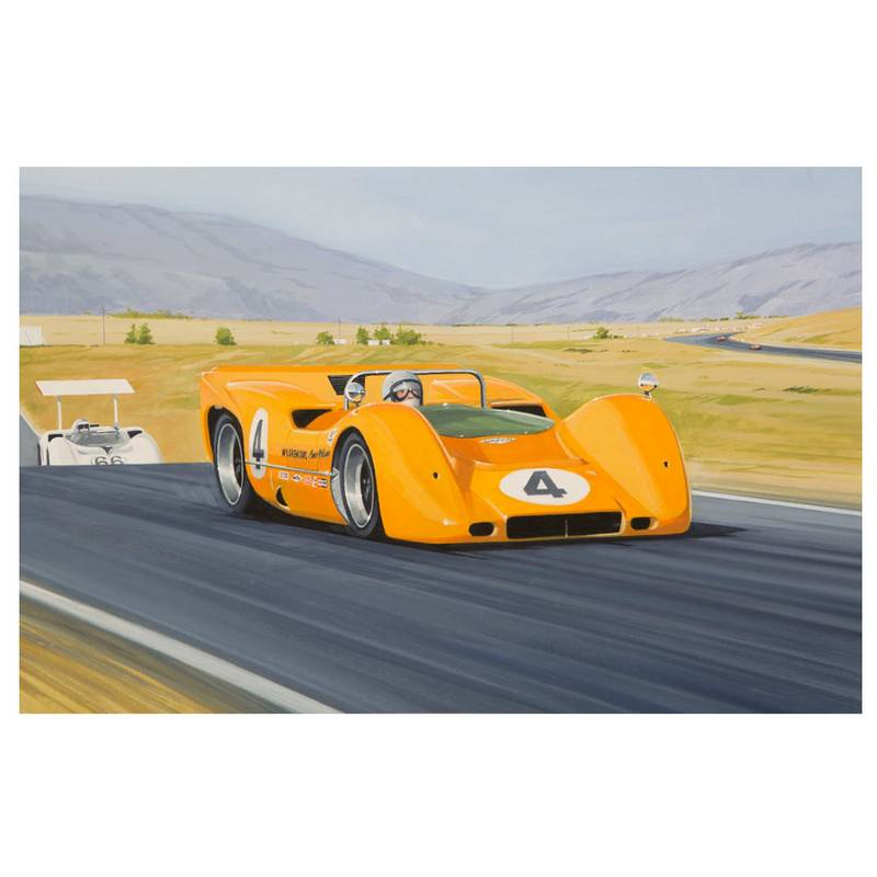Product image for McLaren M6A Print