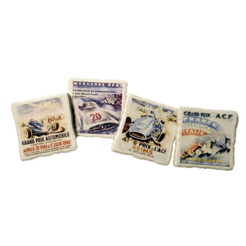 Product image for European Grand Prix - Poster Artwork | Coaster Set