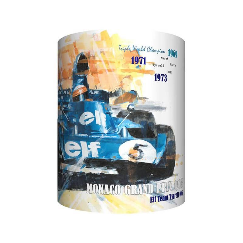 Product image for Jackie Stewart & Tyrrell - Artwork | John Ketchell | Mug