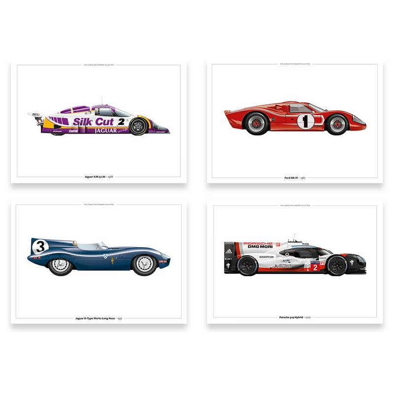 Product image for The Le Mans Winners: Signed and Limited Editions