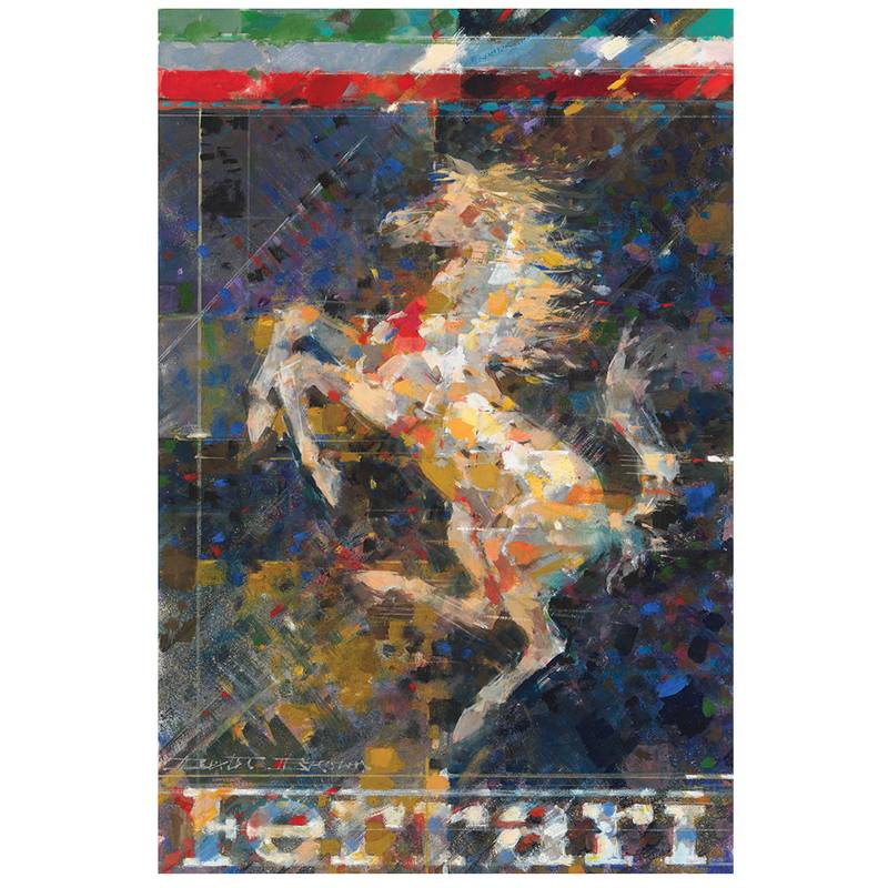 Product image for Cavallino Rampante | Dexter Brown | Limited Edition print