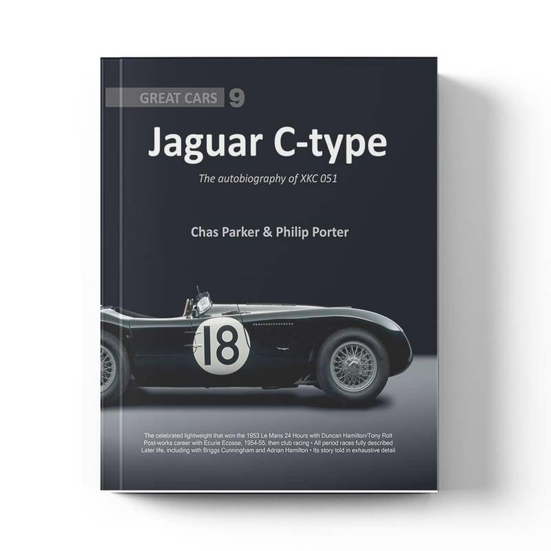 Product image for Jaguar C-type: The Autobiography of XKC 051   Chas Parker & Philip Porter   Book   Hardback
