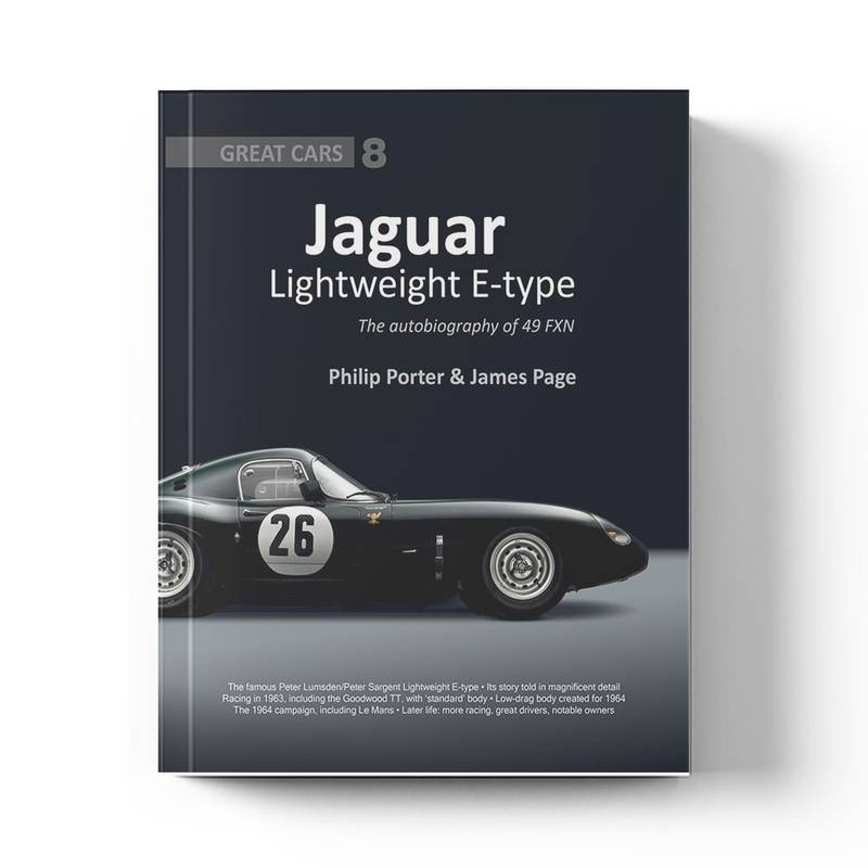 Product image for Jaguar Lightweight E-type: The Autobiography 49 FXN   Philip Porter & James Page   Book   Hardback