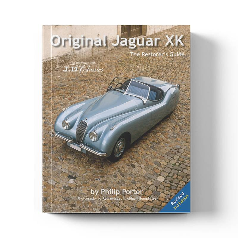 Product image for Original Jaguar XK - The Restorer's Guide by Philip Porter