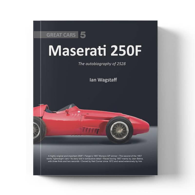 Product image for Maserati 250F: The Autobiography of 2528   Ian Wagstaff   Book   Hardback