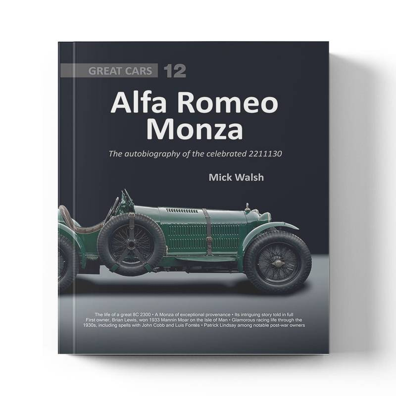 Product image for Alfa Romeo Monza: The autobiography of the celebrated 221113   Mick Walsh   Book   Hardback