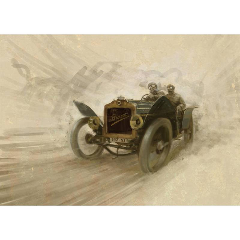 Product image for 1908 Brasier GP Special Print