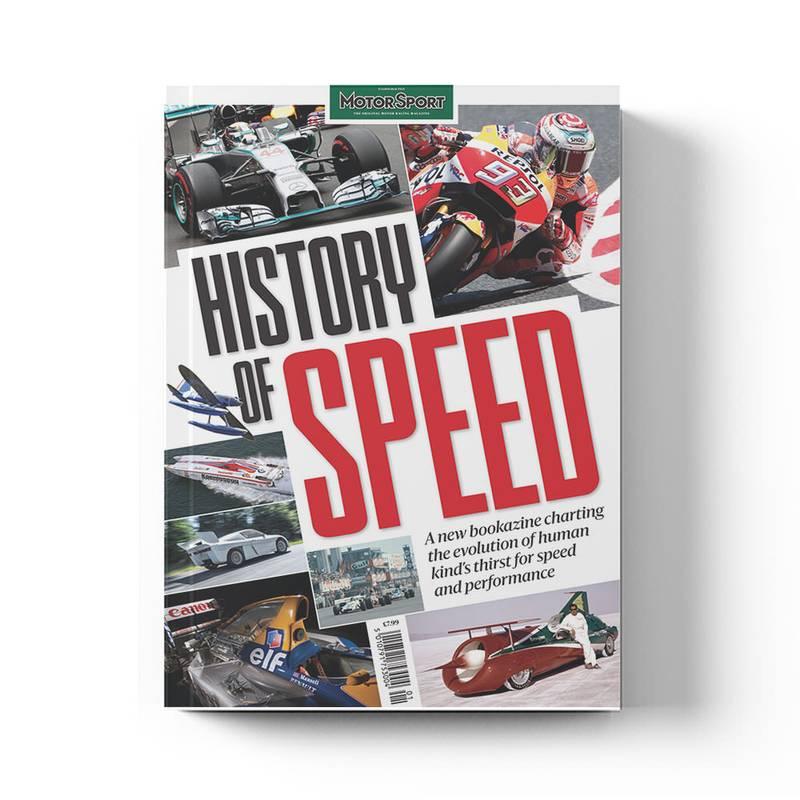 Product image for History of Speed   Motor Sport Magazine   Bookazine