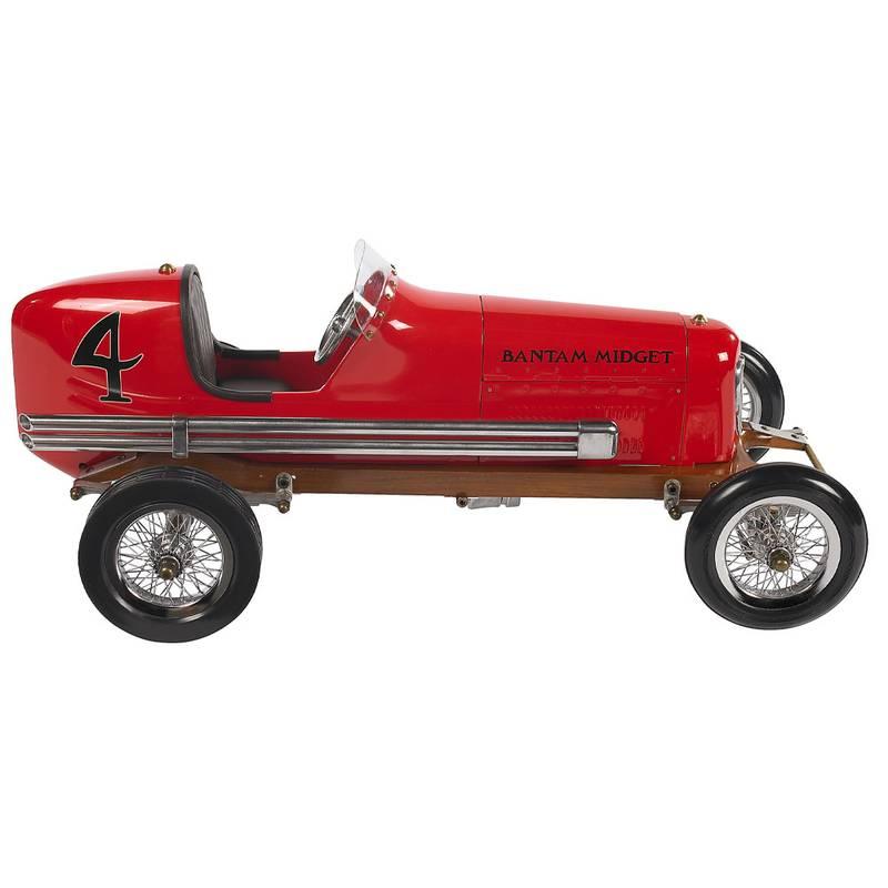 Product image for Spindizzies - Bantam Midget Car - 1930s | red - aluminium | model